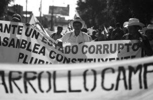 Una Constituyente es siempre una salida política a las crisis de los diversos tipos que se generan en los países en un momento dado. Foto: Archivo.