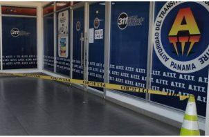 Se investiga que lograron llevarse los delincuentes de la sede regional de la ATTT en La Riviera de Chiriquí.