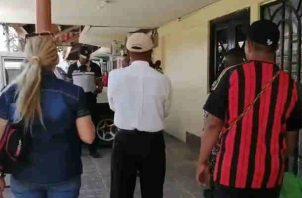 Delincuentes vestían uniformes de obreros. Foto/Cortesía