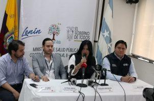 Primer caso de coronavirus en Ecuador. Foto: Comunicación Ecuador