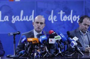 Ministro de  Salud y Protección Social, Iván Darío González. FOTO/EFE