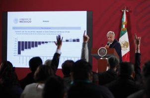 Andrés Manuel López Obrador partió de una posición muy ventajosa con un amplio margen de apoyo que empieza a entrar en declive. FOTO/EFE