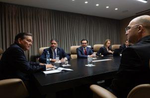 Enka expresó su interés de invertir a través de las APP y de establecerse en Panamá.