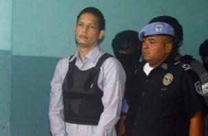 Ventura Ceballos, a su llegada al Sistema Penal Acusatorio (SPA). Edwards Santos