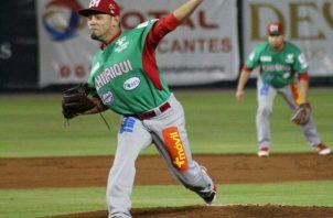 Andy Otero, lanzador de Chiriquí.