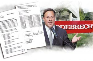 Ampliación de denuncia contra Juan Carlos Varela se presentó el 20 de febrero pasado.