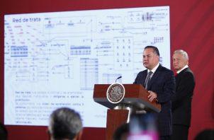 Santiago Nieto, El titular de la Unidad de Inteligencia Financiera. FOTO/EFE