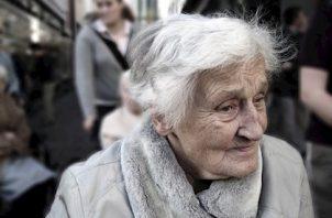 Adulta mayor. Foto Pixabay