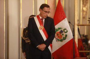 La situación fue dada a conocer por el presidente peruano Martín Vizcarra. FOTO/EFE