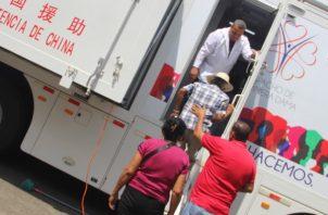 El director regional del MINSA en Herrera, Luis Pérez, indicó que estas jornadas buscan llevar salud a las comunidades más apartadas. FOTO/THAYS DOMÍNGUEZ