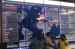 Panamá refuerza vigilancia tras paso de viajero tico con sospechas de coronavirus.