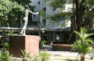 La galería Gama, en la Universidad de Panamá, frente a la librería, será el lugar donde se presentará la nueva edición de revista 'Tareas'. Foto: Panamá América