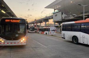 Ministerio de Salud (Minsa) brindó instrucciones a MiBus de cómo realizar la desinfección de los metrobuses, por el coronavirus.