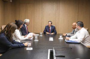 Los delegados de la OCDE ponderaron las acciones del gobierno de Laurentino Cortizo. Foto/Cortesía