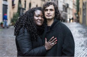 Latrese Williams fue con un grupo a Roma y conoció a su novio. Foto / Susan Wright para The New York Times.