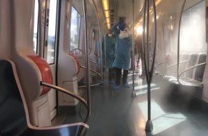 El Metro de Panamá mantiene sus instalaciones debidamente limpias. Foto: Sugey Fernández