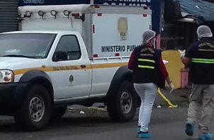 Las autoridades del Ministerio Público realizan las investigaciones del hecho y buscan esclarecer que fue lo que ocurrió,  para ubicar al responsable del mismo. FOTO/MAYRA MADRID