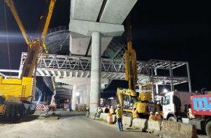 """El proyecto Ramal de la Línea 2 del Metro de Panamá  serán montadas 96 vigas """"U"""" y 10 vigas """"semi U"""" a lo largo de 2 kilómetros desde la estación Corredor Sur de la Línea 2 hasta la nueva terminal."""