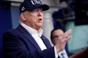 """El viernes en una rueda de prensa, Donald Trump ya había dicho que """"muy probablemente"""" se haría la prueba """"bastante pronto"""". FOTO/EFE"""