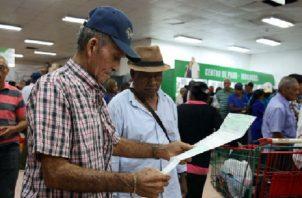 Pagos a los jubilados se hará del 23 al 25 de marzo. Foto/Archivos