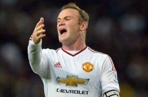 Wayne Rooney, es atual jugador y asistente del Derby County antes lo hizo en el Manchester United y Everton. Foto EFE