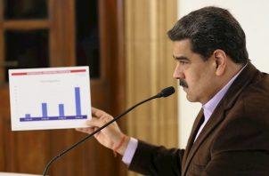 """Maduro cifró que el acatamiento de la cuarentena en """"casi el 85 %"""","""