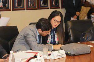 Juan Vásquez y Zulay Rodríguez. Foto: Twitter