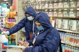 Desde el inicio del operativo la Acodeco ha verificado a 162 comercios entre ellos supermercados, farmacias y tiendas. Foto/Cortesía