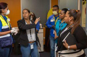 Mitradel inspecciona a varias empresas a nivel nacional, durante situación por coronavirus.