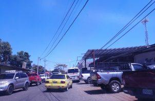 Esta ruta convierte al distrito de Tolé en la provincia de Chiriquí como el primer frente de infección para esta región del país. FOTO/José Vásquez