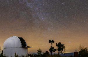 El telescopio de 152 centímetros en el Observatorio Mount Lemmon, en Arizona, observó el objeto 2020 CD3. Foto / Travis Deyoe/Mount Lemmon SkyCenter/Universidad de Arizona.