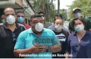 Se trata de camioneros, empleados de la Zona Libre de Colón y estudiantes panameños. Foto: Cortesía.