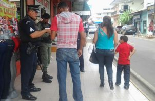 Tanto en Herrera como en Los Santos, las autoridades mantienen un cerco sanitario. Foto: Archivo/Ilustrativa.