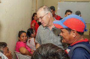José Luis Fábrega aseguró que los fondos serán fiscalizados.