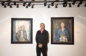 """""""No hay pretensión"""", dijo Mark Forgy de la muestra de obras originales de Elmyr de Hory. Foto / Jenn Ackerman para The New York Times."""
