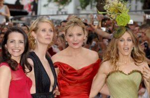 Las actrices Kristin Davis, Cynthia Nixon, Kim Cattrall y Sarah Jessica Parker,  protagonistas de la serie 'Sex and the City'. EFE