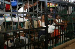 Los presos demandan mayor atención en temas alimenticios y de salubridad. Foto: Panamá América.