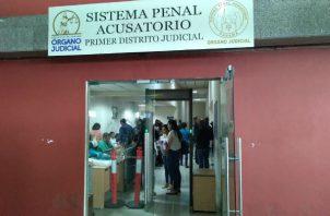Las audiencias en el Sistema Penal Acusatorio se están realizando a puerta cerrada. Archivo.
