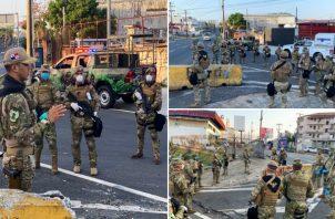 Los estamentos de seguridad del Estado cuentan con 16 mil uniformados. Foto: Senan.