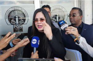Zulay Rodríguez aseguró que se debió consultar a los jefes de bancadas antes de suspender la Asamblea Nacional. Foto: Panamá América.