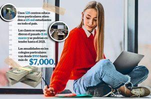 En total son 528 centros educativos particulares que ahora son parte del problema financiero que tienen miles de padres de familia.