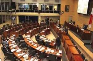 El Pleno de la Asamblea iniciaría a partir de la 1:00 de la tarde de este martes 31 de marzo. Foto: Panamá América.