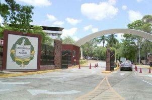 La actividad en la Universidad de Panamá se mantiene suspendida.