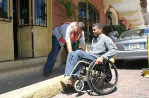 Unas 370 mil 53 personas viven con algún grado de discapacidad en Panamá, de acuerdo con la Organización Mundial de la Salud. Foto: Panamá América.