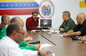 El plan propone que tanto Nicolás Maduro, como el opositor Juan Guaidó, se hagan a un lado. Foto: Archivo/Ilustrativa.