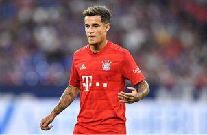 El brasileño Philippe Coutinho estuvo cedido préstamos al Bayern de Munich. Foto:AP