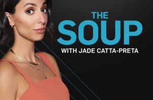 """Jade Catta-Preta. Actriz y comediante de origen brasileño es la anfitriona de """"The Soup"""", que pueden ver a través del canal E!. Foto: https://style.shockvisual.net/"""