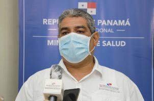 El viceministro de Salud (Minsa), Luis Francisco Sucre, explicó sobre la habilitación de hoteles por el COVID-19. Foto Minsa