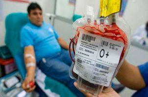 En Panamá hay 28 bancos de sangre disponible. Foto: Archivo