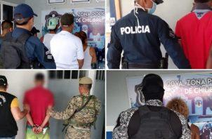 Ante el incremento de detenciones ocurridas durante la ejecución del toque de queda en todo el país, el Ministerio de Seguridad Pública anunció la medida de la cuarentena absoluta. Foto @Minseg